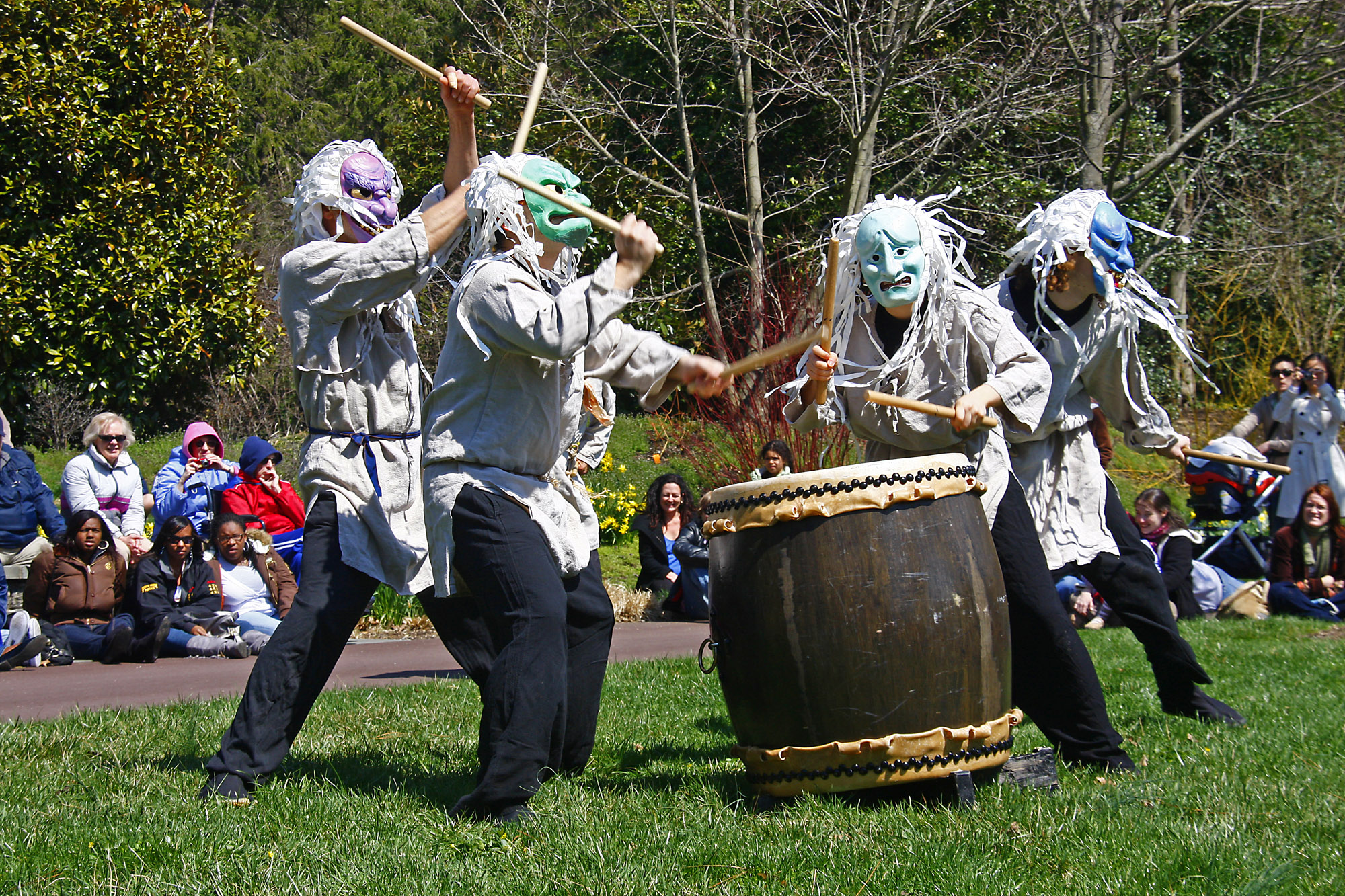 Cherry Blossom Festival - Japanese Taiko Drummers